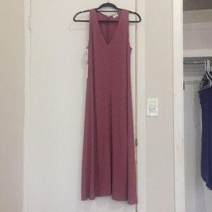Aritzia Wilfred Calafiore Rose Midi Dress Size 4